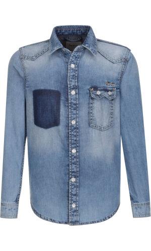 Pepe Jeans London Koszula ZYAN 73 | Regular Fit | denim