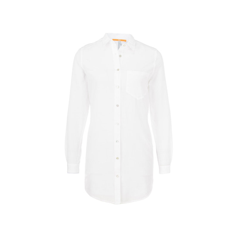 Chrisler_1 Shirt Boss Orange white