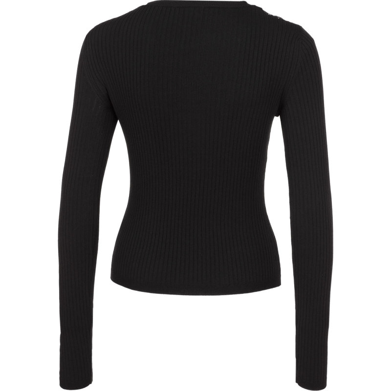 Sweter Red Valentino czarny