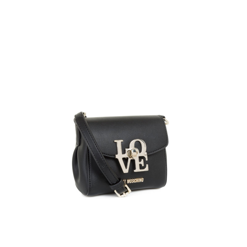 Love-Lock messenger bag Love Moschino black