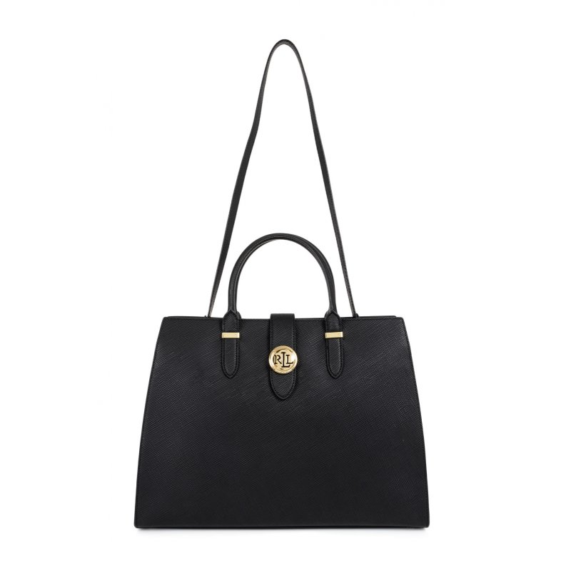 Shopper bag Lauren Ralph Lauren black