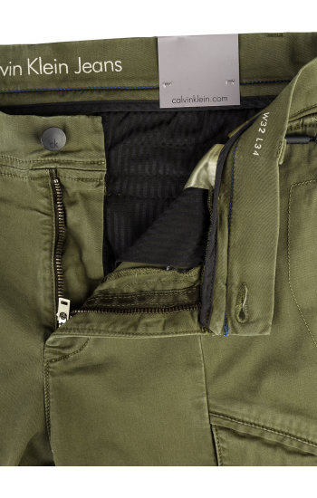 Cargo pants Calvin Klein Jeans olive