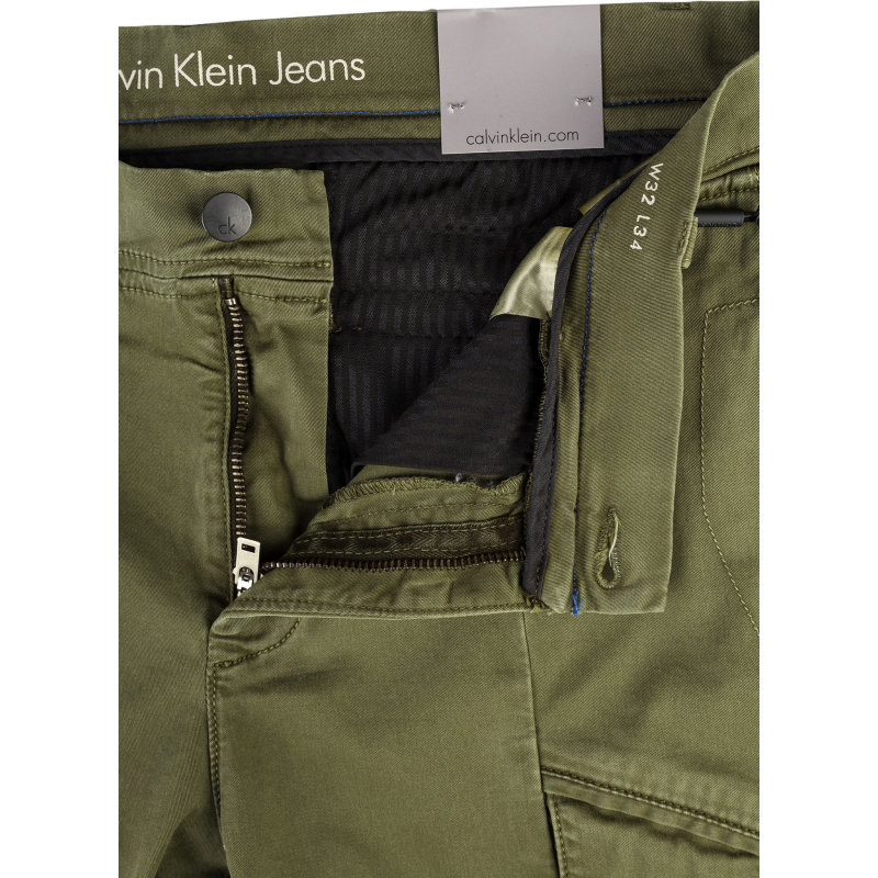 Cargo pants Calvin Klein Jeans olive
