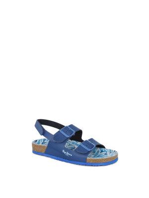 Pepe Jeans London Sandały Bio indigo