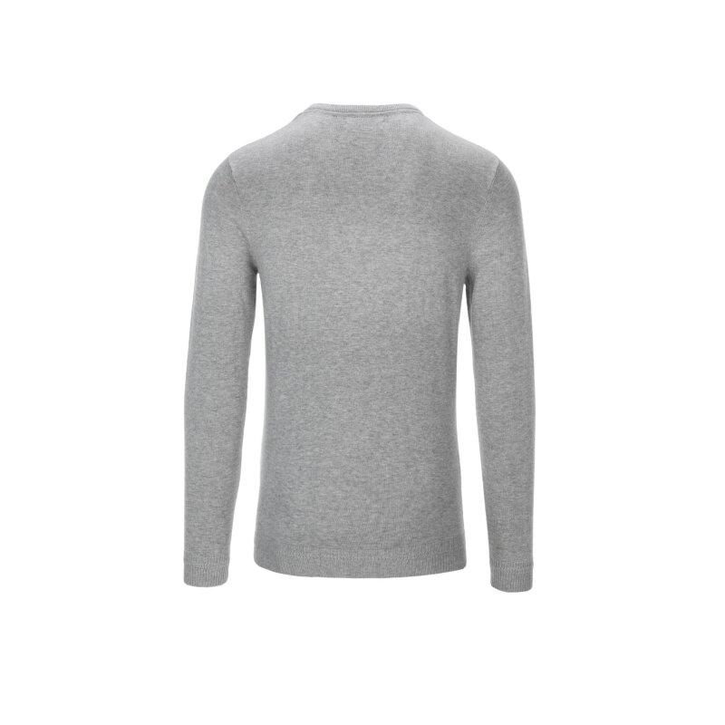 Sweter Calvin Klein Jeans popielaty