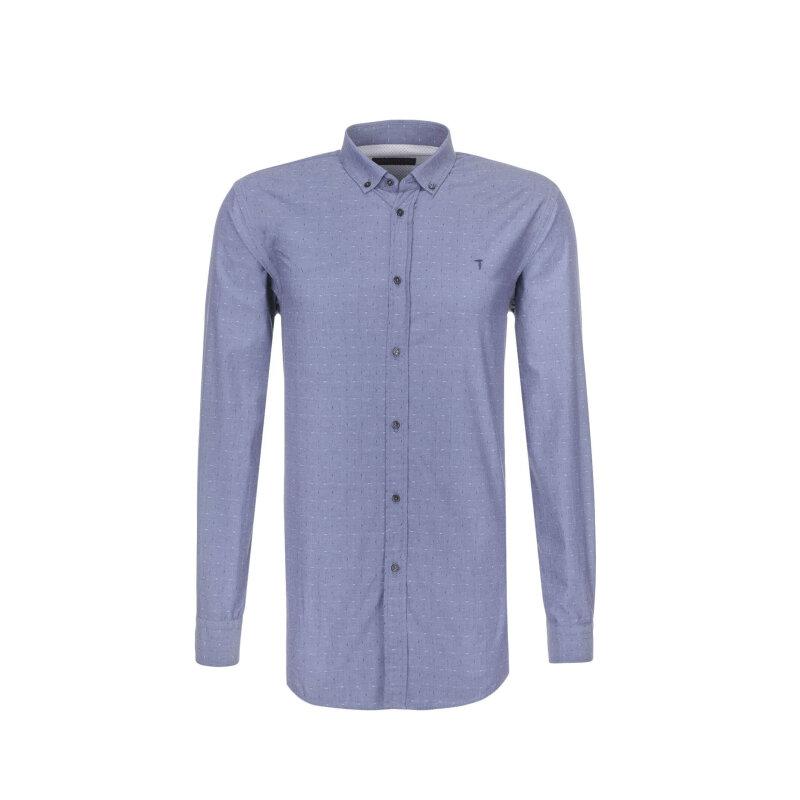 Koszula Trussardi Jeans niebieski