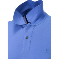 Polo C-Firenze/Logo Boss Green niebieski