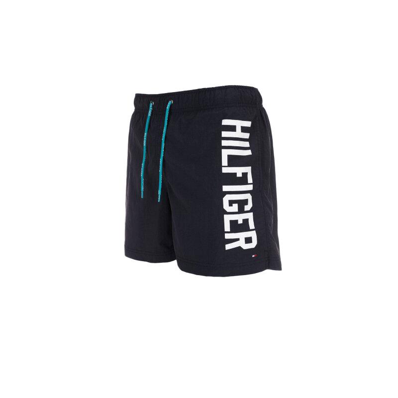 Szorty kąpielowe Logo trunk Tommy Hilfiger granatowy