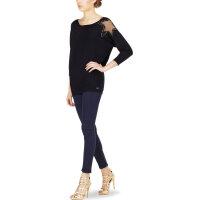 Sweter Cira Guess Jeans czarny