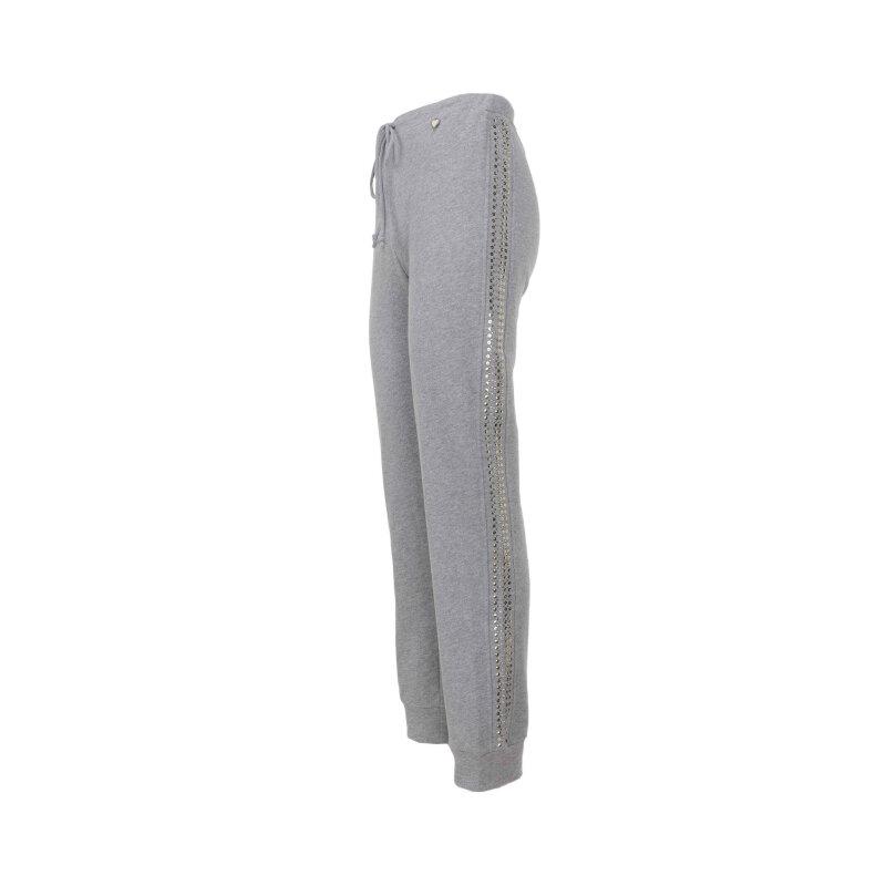 Spodnie dresowe Twinset Jeans szary