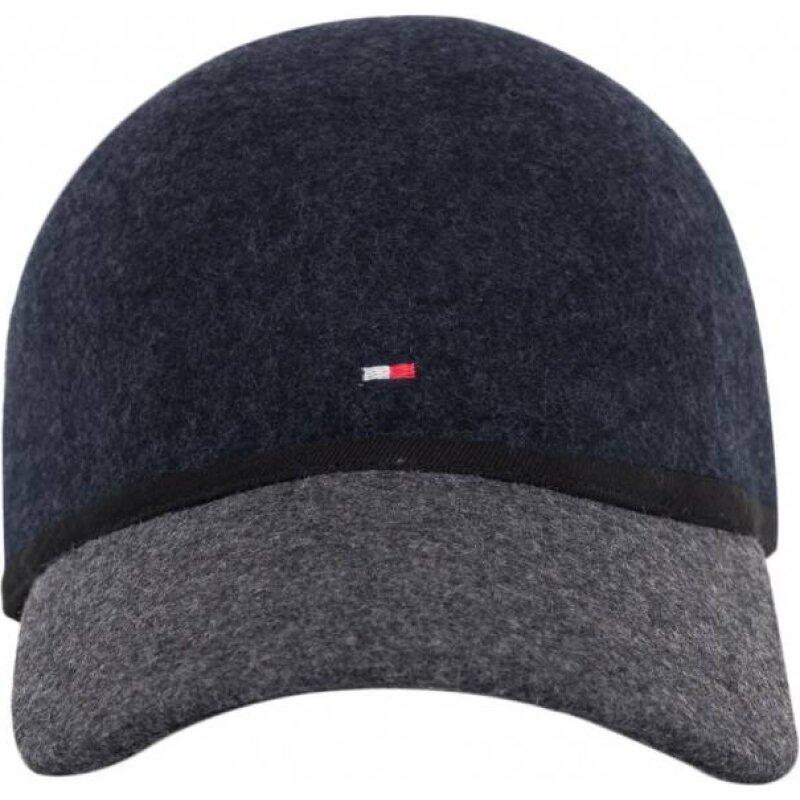 Wool Baseball cap Tommy Hilfiger navy blue
