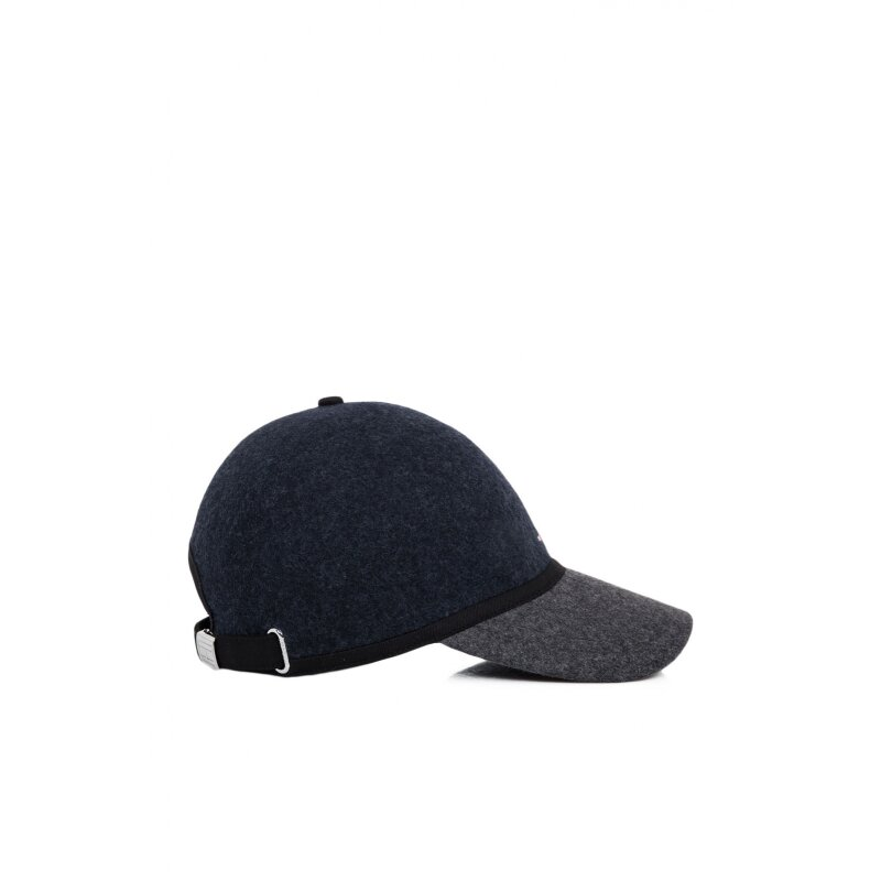 Wool Baseball cap Tommy Hilfiger navy blue