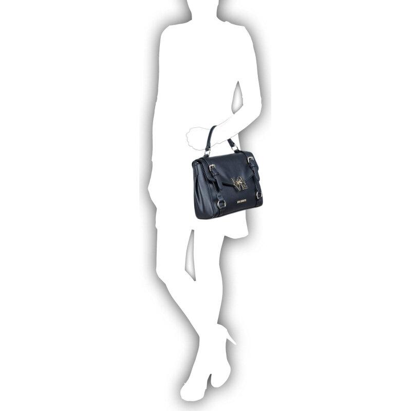 Love-Lock satchel Love Moschino black