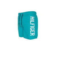 Szorty kąpielowe Logo Trunk Tommy Hilfiger turkusowy