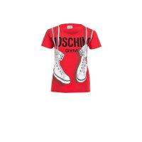 T-shirt Moschino Underwear czerwony