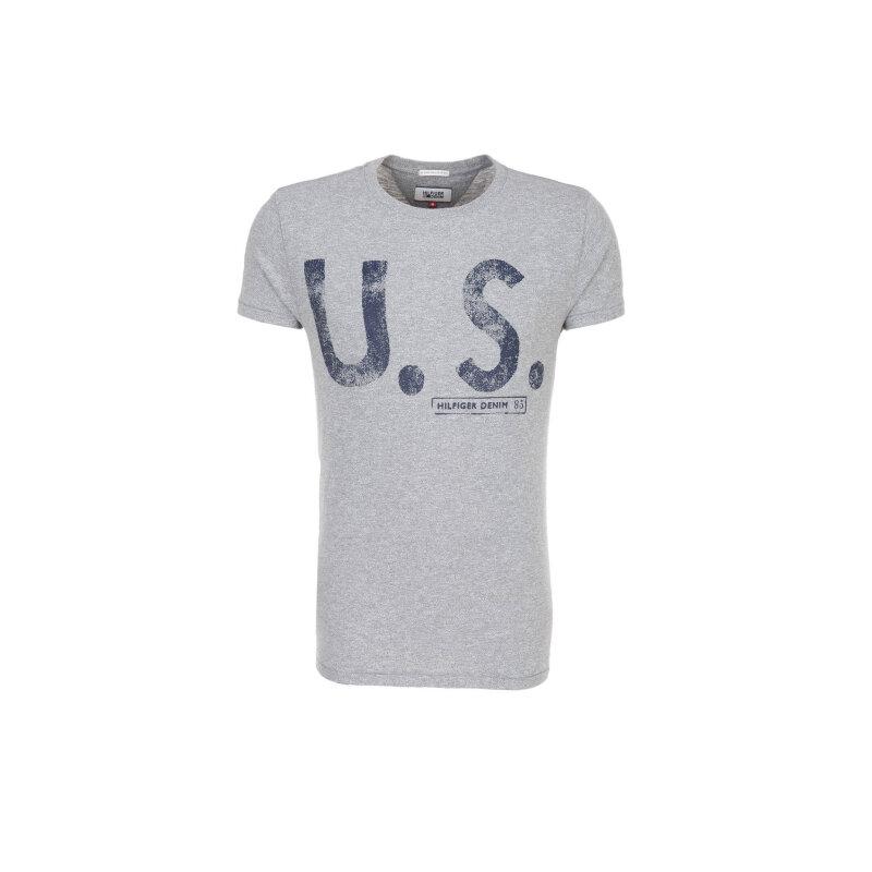 T-shirt THDM Hilfiger Denim szary