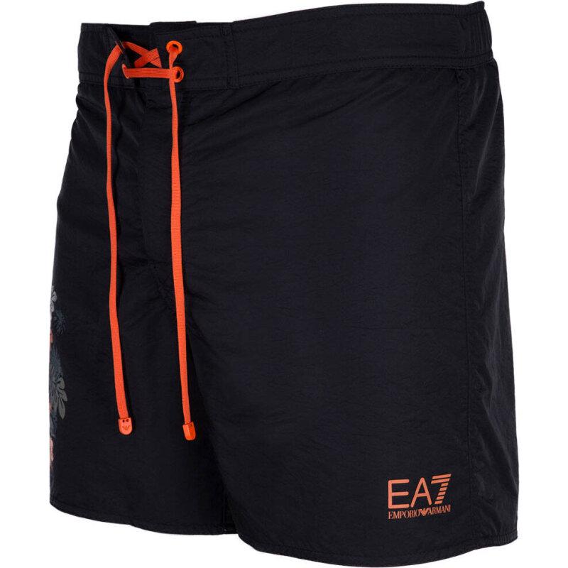 Szorty Kąpielowe EA7 czarny