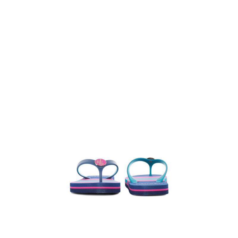 Japonki Elissa 2 Lauren Ralph Lauren niebieski