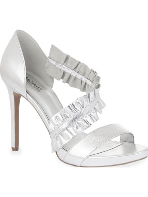 Michael Kors Bella high-heeled sandals
