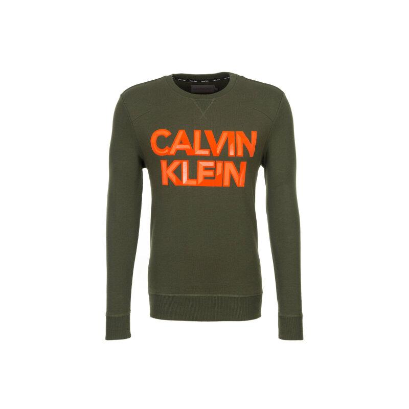 Bluza Calvin Klein Jeans zielony