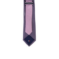 Krawat Tommy Hilfiger Tailored fioletowy