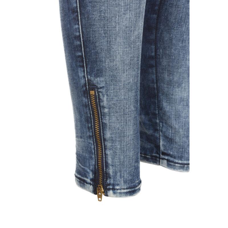Jeansy Skinzee-low-zip Diesel niebieski