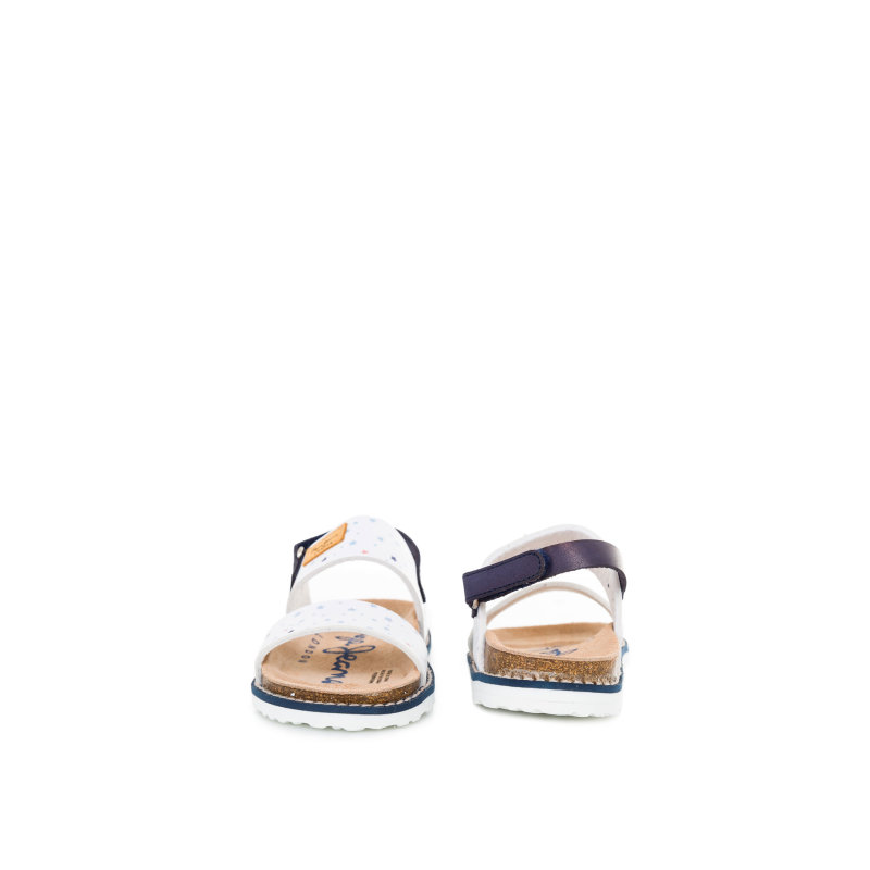 Minibio Print sandals Pepe Jeans London navy blue
