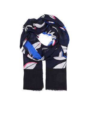 Tommy Hilfiger Leaves print scarf