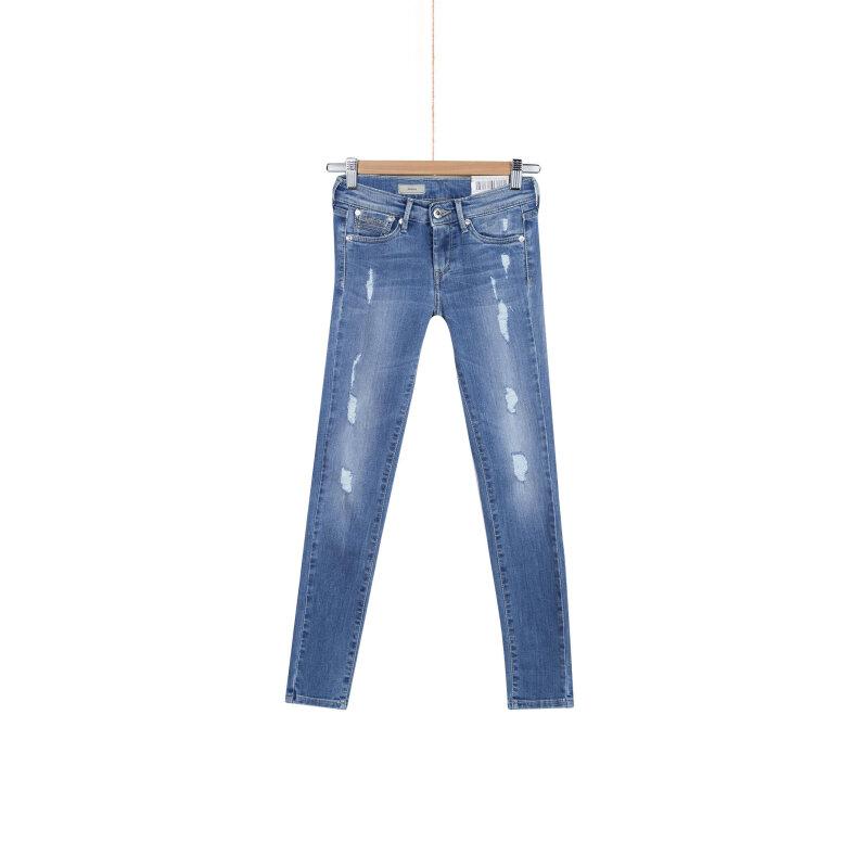 Jeansy Pixlette Pepe Jeans London niebieski