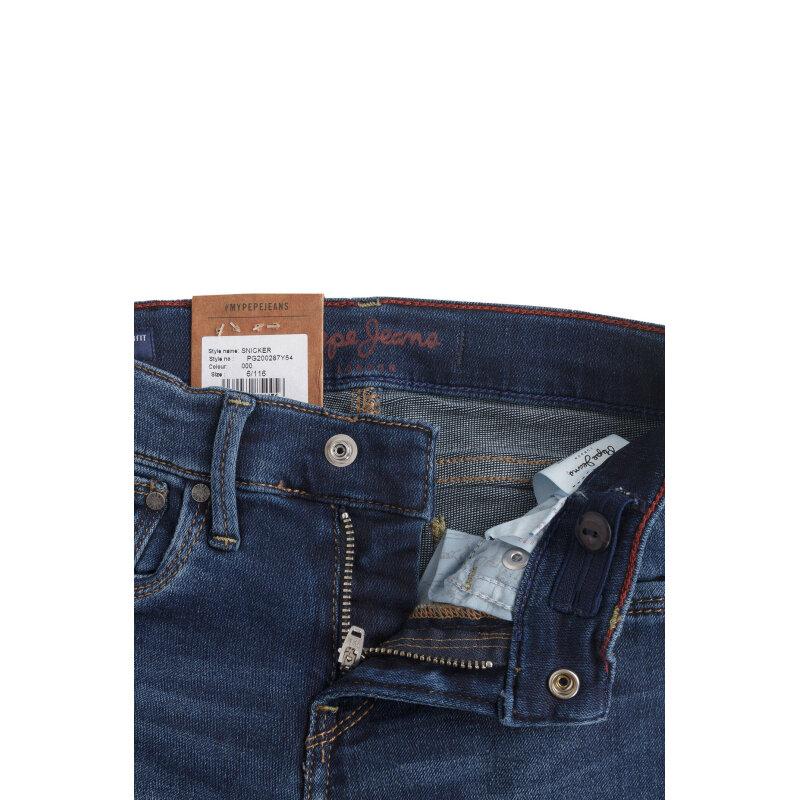 Jeansy Sneaker Pepe Jeans London niebieski