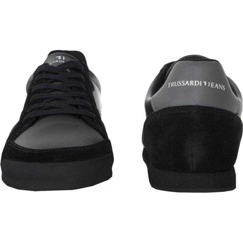 Sneakersy Trussardi Jeans czarny