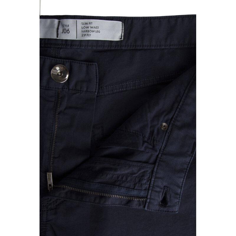 Spodnie J06 Armani Collezioni granatowy