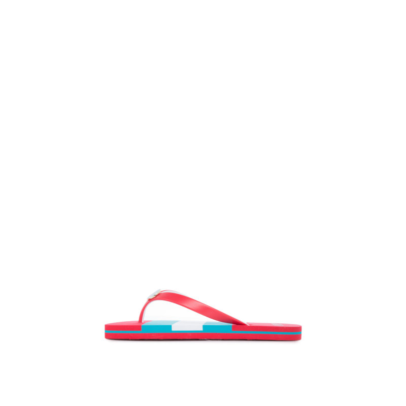 Japonki Elissa 2 Lauren Ralph Lauren czerwony