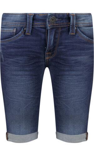 Pepe Jeans London Szorty CASHED   Slim Fit   denim