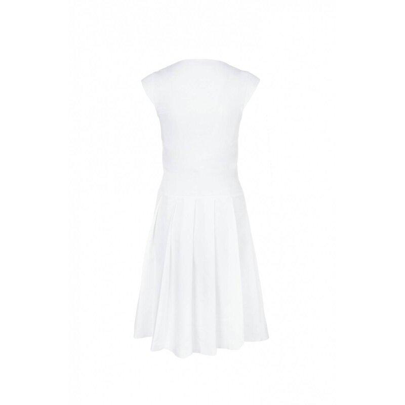 Sukienka Tru Trussardi biały