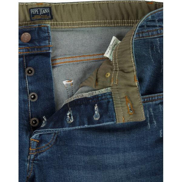 ... Cash Hrtg jeans Pepe Jeans London navy blue ... 5c64db8802