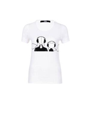 Karl Lagerfeld T-shirt Karl&Chouette Music