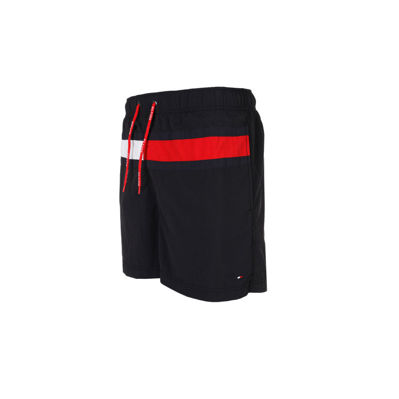 Szorty kąpielowe Flag trunk Tommy Hilfiger czarny