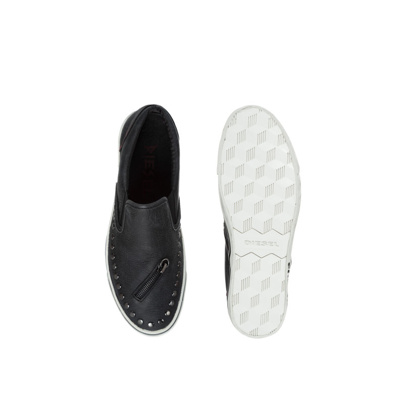Slip On Subways Diesel czarny