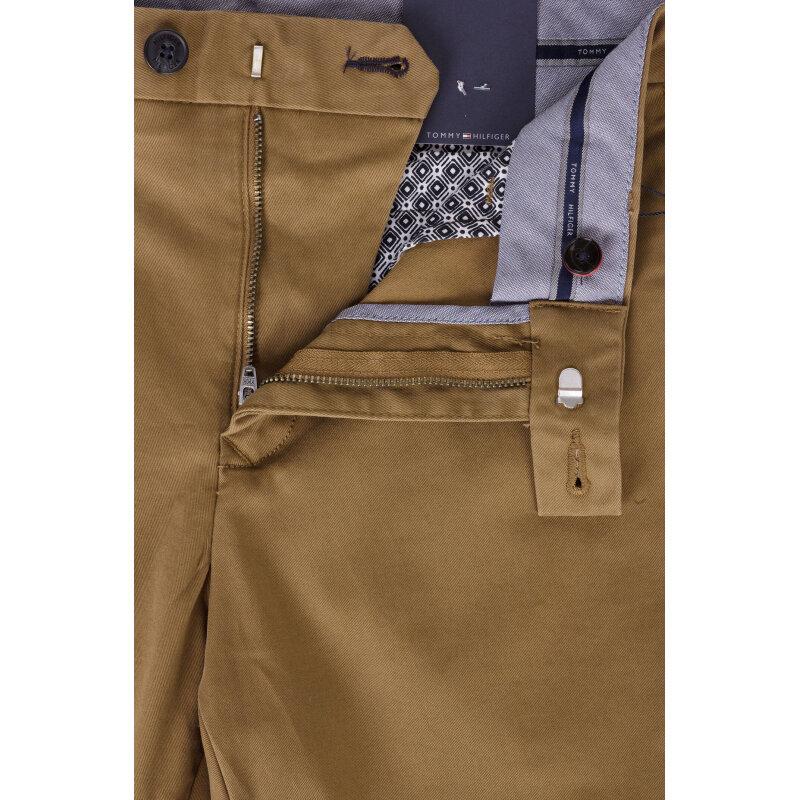 Spodnie Chino Denton Tommy Hilfiger brązowy