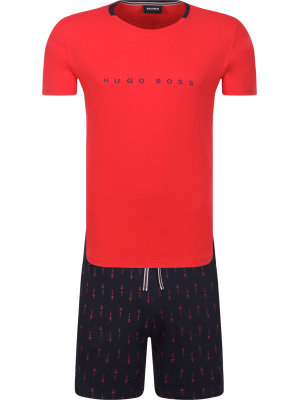 Boss Piżama Relax Short Set | Relaxed fit