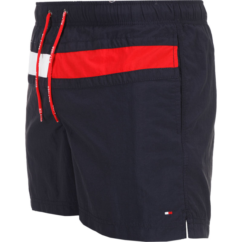 Szorty kąpielowe Flag trunk Tommy Hilfiger granatowy