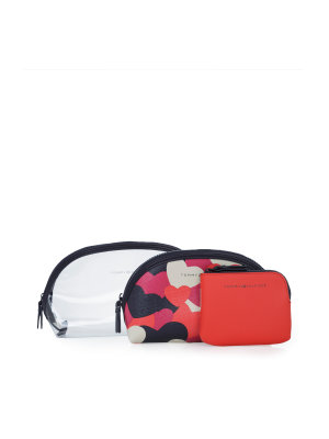 Tommy Hilfiger makeup 3in1 cosmetic bag
