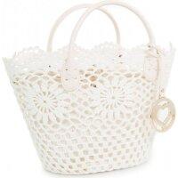 Basket bag Twin-Set white