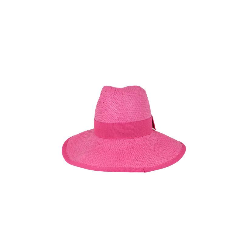 Kapelusz Armani Jeans różowy