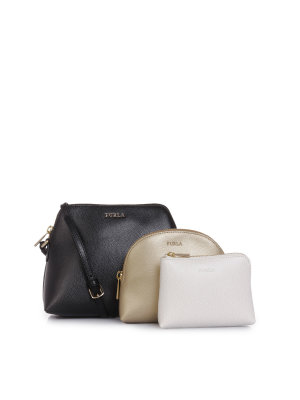 Furla Messenger Bag + Boheme Cosmetic Bags