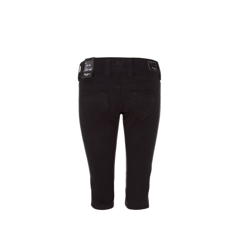 Venus Crop Shorts Pepe Jeans London black
