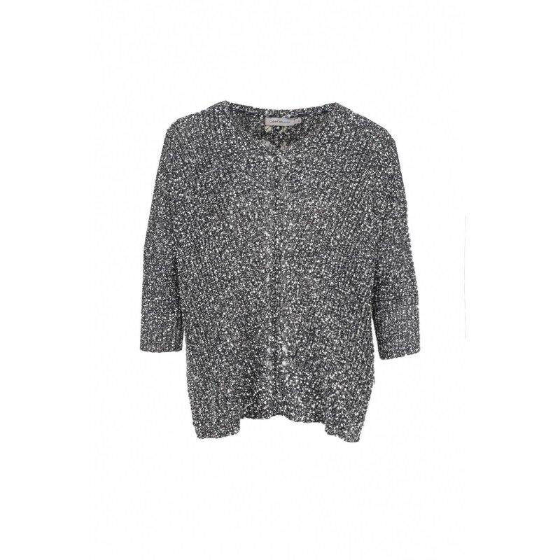 Sweter Meteorite Calvin Klein Jeans czarny