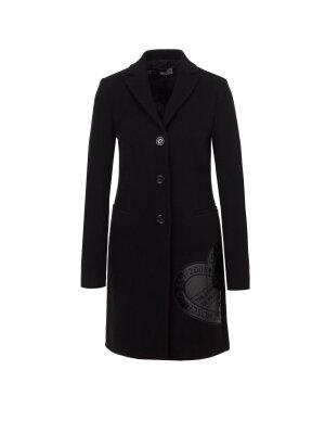 Love Moschino Wełniany płaszcz