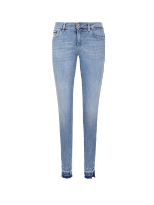 Calvin Klein Jeans Jeansy MR Skinny Twisted Ankle